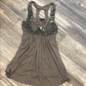 Sky top. Olive in color. Never worn. NWOT